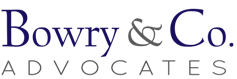 Bowry & Co Advocates Logo